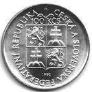 100 Korún (175ème anniversaire du Musée morave de Brno) – avers