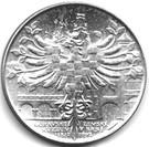 100 Korún (175ème anniversaire du Musée morave de Brno) – revers