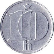10 haléřů -  revers