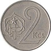 2 koruny -  revers
