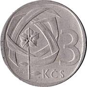 3 koruny -  revers