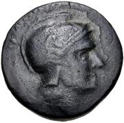 Trichalkon (Tegea) – avers