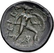 Trichalkon (Tegea) – revers