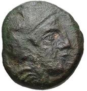 Dichalkon (Tegea) – avers