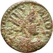 Bronze Æ18 (Temnos) – avers