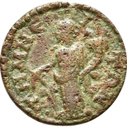 Bronze Æ18 (Temnos) – revers
