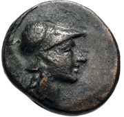 Bronze Æ12 (Temnos) – avers