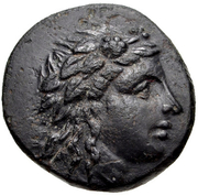 Bronze Æ17 (Temnos) – avers