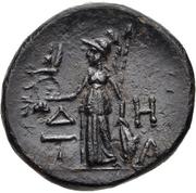 Bronze Æ17 (Temnos) – revers