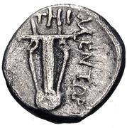 Diobol (Teos) – revers