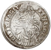 Groshen - Wenzel III – revers