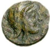 Bronze Æ (Teuthrania) – revers