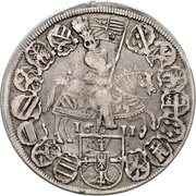1 Thaler - Maximilian I. – revers