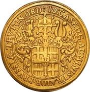 10 Ducat - Johann Caspar II. – avers