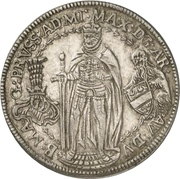 ¼ thaler Maximilian III – avers