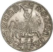 ¼ thaler Maximilian III – revers