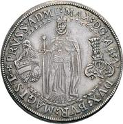 ½ thaler Maximilian III – avers