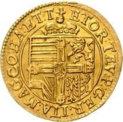 1 Ducat - Maximilian I. – revers