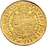 2 Ducat - Maximilian I. – revers