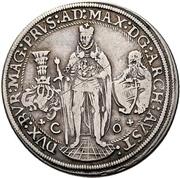 ½ Thaler - Maximilian I. – avers