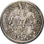 ½ thaler Maximilian III – revers
