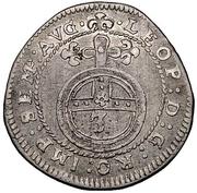 1 Groschen - Johann Caspar von Ampringen – revers