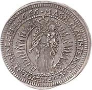 4 Kreuzer - Johann Casper von Ampringen – revers