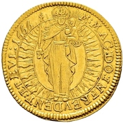 1 Ducat - Johann Kaspar von Ampringen – revers