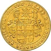 2 Ducat - Johann Caspar II. von Ampringen – avers