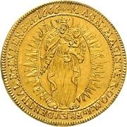 2 Ducat - Johann Caspar II. von Ampringen – revers