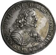 1 Thaler - Johann Caspar von Ampringen – avers