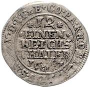 1/12 Thaler - Ludwig Anton von Pfalz Neuburg – revers