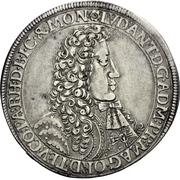 1 Thaler - Ludwig Anton von Pfalz-Neuburg -  avers