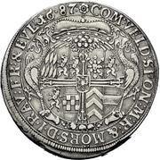 1 Thaler - Ludwig Anton von Pfalz-Neuburg -  revers