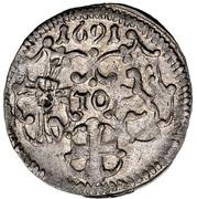 3 Pfennig - Ludwig Anton von Pfalz-Neuburg – avers