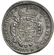 1 Groschen - Ludwig Anton von Pfalz-Neuburg (Mort) – avers