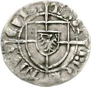 1 Schilling - Conrad III. von Jungingen (Danzig) – avers