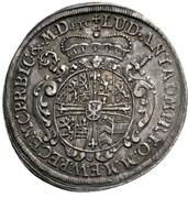 ¼ Thaler - Ludwig Anton von Pfalz-Neuburg (Mort) – avers