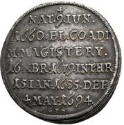 ¼ Thaler - Ludwig Anton von Pfalz-Neuburg (Mort) – revers