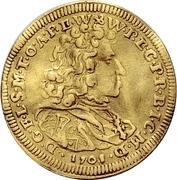 1 Ducat - Franz Ludwig von Pfalz-Neuburg – avers