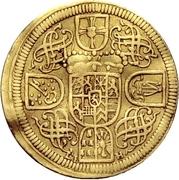 1 Ducat - Franz Ludwig von Pfalz-Neuburg – revers