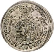 1 Groschen - Franz Ludwig Pfalzgraf von Neuburg (Mort) – avers