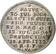 1 Groschen - Franz Ludwig Pfalzgraf von Neuburg (Mort) – revers