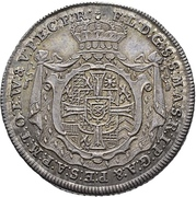 ¼ Thaler - Franz Ludwig von Pfalz-Neuburg (Mort) – avers