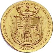 1 Ducat - Carl Alexander von Lothringen – revers