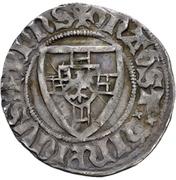 1 Schilling - Heinrich der Ältere von Plauen (Danzig) – avers