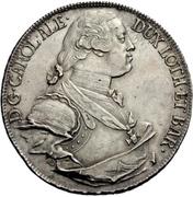 1 Thaler - Karl Alexander von Lothringen (Konventionstaler) – avers