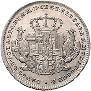 10 Kreuzer - Karl Alexander von Lothringen (Mort) – avers