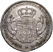 ¼ Thaler - Karl Alexander von Lothringen (Mort) – avers