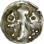 1 denar Louis II – avers
